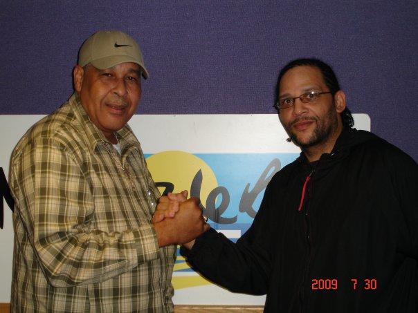King Jammy and Wayne Irie